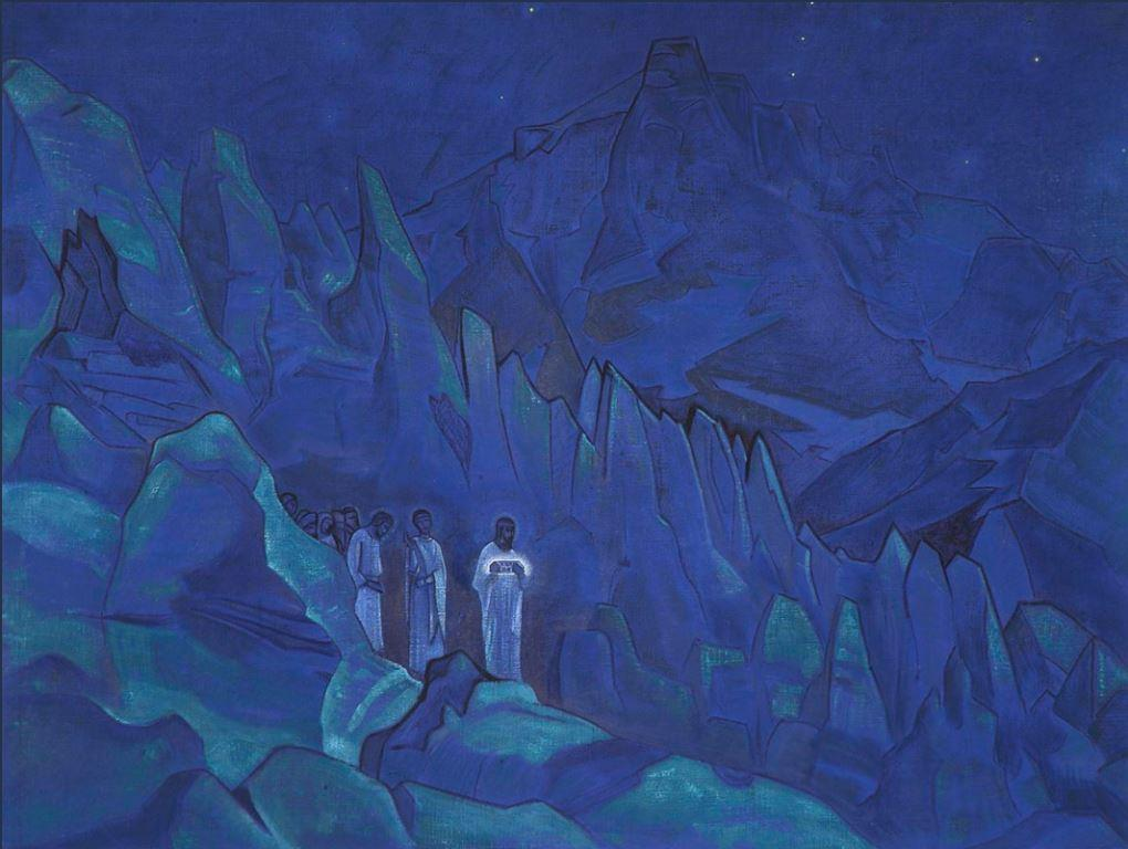 nicholas roerich burning of darkness web