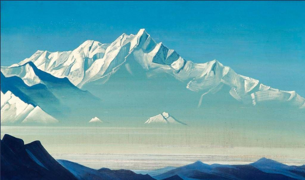 nicholas roerich mountain of the five treasures web